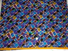 VTG 1987 LIBERTY TZARA  VARUNA WOOL  FABRIC 10cmx137cm