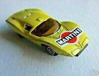 Diecast Modellauto 1/64 frühes Fernost Modell TF303 Gelb Martini schnelle Wheels