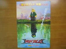 The Lego Ninjago Movie MOVIE FLYER mini poster chirashi Japan 29-7