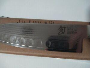Never used Open Box Shun DM0718 Classic 7 inch Hollow Granton Santoku Knife
