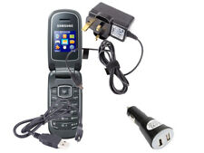Travel Charger Kit For Samsung E1150i Mobile Phone With UK Plug/Car & Data Cable
