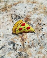 Pizza Enamel Hat Lapel Pins Food Free USA Shipping + Cloth Gift Bag