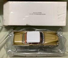 Rare New Signature Models 1957 Studebaker Hawk 1:32 Gold Original Box 57SDHK Wow