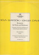 GYULA DAVID - Béla Bartókpal lukacs viola KONZERTE FOR VIOLA UND ORCHESTERDGG