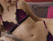Sexy Lola Luna  Scarlett  BH ( Bra )  Gr. M  Farbe Schwarz/Fuchsia