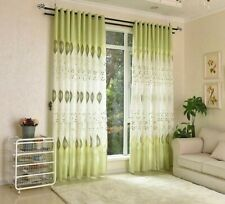 Curtains Modern Blackout Window Blinds Floral Patterned Panel Home Curtain Decor