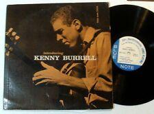 "KENNY BURRELL ""Introducing"" RARE OG BLUE NOTE Lp LEXINGTON ADDRESS CVR/LBL *RVG*"