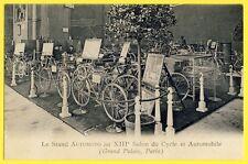 cpa Rare 75 - PARIS EXPO AUTOMOTO 13e Salon du CYCLE et AUTOMOBILE Stand COSMOS
