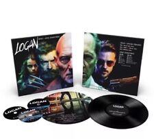 SDCC 2017 Exclusive Fox Logan Vinyl Plus Blu Ray Soundtrack LP In Hand Blue