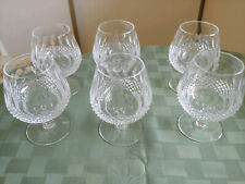 Waterford Colleen Crystal Brandy Balloon Glasses – 6 items