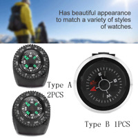 Portable Watch Band Slide Navigation Wrist Compass for Survival Camping Boating
