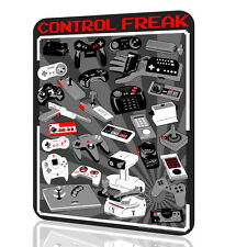 METAL SIGN Control Freak Video Game Consoles NINTENDO Arcade Video Game 8 BITS