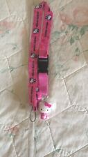 Carinissimo Moschettone Hello Kitty Con Fascia Sanrio Rosa Pink Nuovo Cellulare