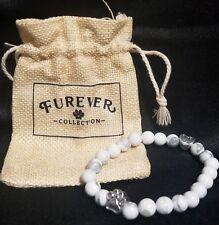Bracelet, White Furever Collection Memorial