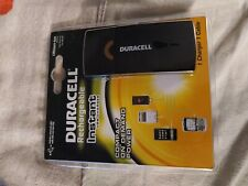 Duracell Rechargeable Instant Usb Charger . New! Compact. 1 Charger. 1 Cable.