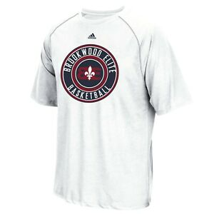 Brookwood Elite Basketball  Adidas Men's 2018 White T-Shirt