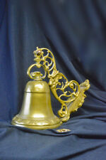 BRASS BELL With fancy support
