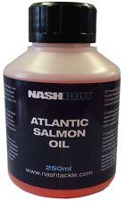 Nash Bait Atlantic Salmon Oil 250ml Carp Fishing Bait Additive - B1123