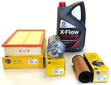 AUDI A4 1.9 TDI 2001>04 AIR OIL FUEL  FILTERS SERVICE KIT + 5L OF COMMA PD OIL