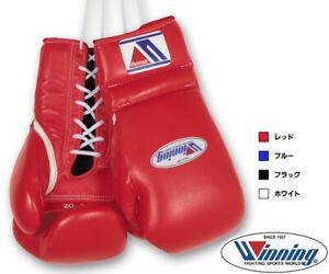 Winning Boxing gloves Professional Lace up Basic color 12oz - 16oz JPN Pre-order