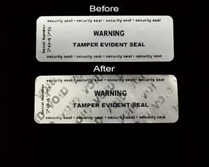 Tamper Evident Security Seal Labels Stickers 75mm x 25mm Documents Envelopes