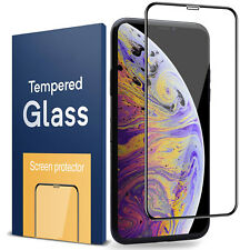 iPhone X Xs Max Xr Tempered Glass Screen Protector Guard 5D Full Cover Crystal