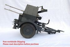 1/6 scale Flakvierling 38 anti-aircraft guns FULL METAL WWII with carriage