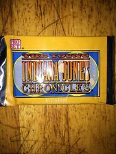 The Young Indiana Jones Chronicles Trading Cards sealed pack