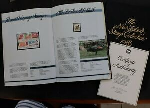 1988 New Zealand Collector's Booklet full set of postage stamps MUH
