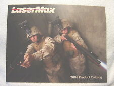 Lasermax Laser Sights Optics 2006 gun shooting catalog
