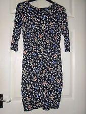 Ladies Warehouse Bird Print Dress Size 12 (Z)