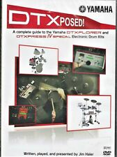 DTXPosed Yamaha DTX E-Drum Beginner Tutorial Training How To Video DVD free ship