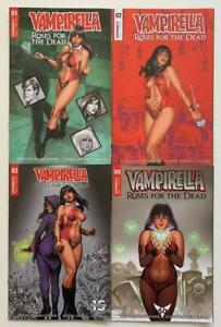 Vampirella Roses for the Dead #1 to #4 complete (Dynamite 2018) NM condition