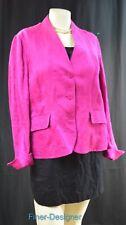 JONES NEW YORK linen Begonia Suit Coat Blazer light Jacket brocade Size 14P NEW
