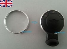 SILVER Chrome Key Fob Trim Ring Rim Mini Cooper 2008 2009 2010 2011 2012 2013