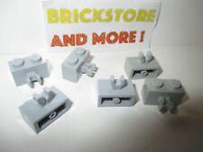 Lego-brick modified brick 6x 1x2 2x1 clip 30237 red//red//rot