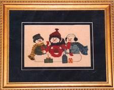 Mayberry Designs JOY! Cross Stitch Chart Only ~ winter/snowman