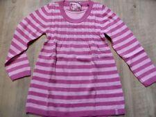 S.OLIVER schöner gestreifter Pullover pink rosa Gr. 104/110 NEU  ST817