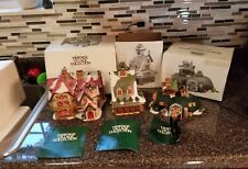 EUC Lot of 3 Department 56 Heritage Village Collection North Pole DICKENSON READ