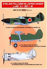 KORA Models Decals 1/72 STALIN'S FALCONS IN JAPANESE HANDS Captured Russians