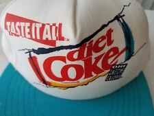 Taste It All Diet Coke One Awesome Calorie  Snapback Trucker Hat USA Made