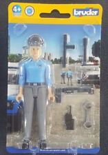 BRUDER BWORLD 60430 POLICEWOMAN LIGHT SKIN WITH ACCESSORIES SAVE 6% GMC