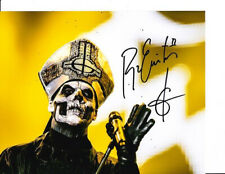 PAPA EMERITUS SIGNED PHOTO 8X10 RP AUTOGRAPHED GHOST BC B.C.