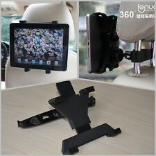 Car 360° Ratating Seat Headrest Tablet Mount Holder Support For iPad For BMW