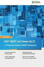SAP ABAP List Viewer by Kathi Kones (2015, Paperback)