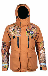 Striker Ice Climate Jacket, Brown/Camo, X-Large, $299.99