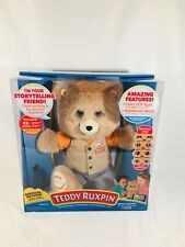 2017 Teddy Ruxpin Story Telling Animated Expression Bluetooth Teddy Bear New