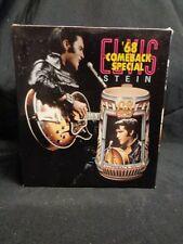 Anheuser Busch Budweiser Elvis '68 Comeback Special Stein (No Lid)