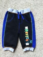 BABY BOYS MONSTERS INC JOGGING TROUSERS FROM DISNEY  AGE 3-6 MONTHS  EX COND