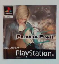 * incrustation avant seulement * Parasite Eve II 2 incrustation avant PS1 psone playstation